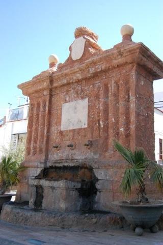 Fuente de Carlos IV de Fondón