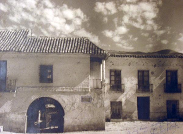 Pósito de Fondón en 1942