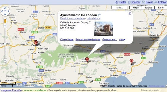 Ayuntamiento de Fondón