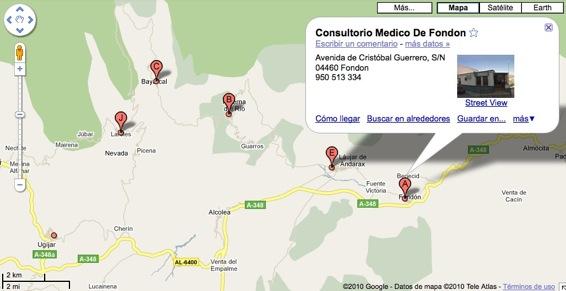Consultorio Médico de Fondón